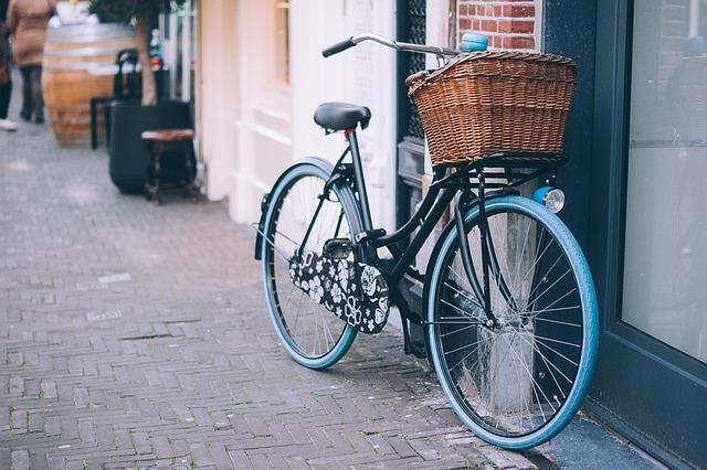 zaparkované kolo