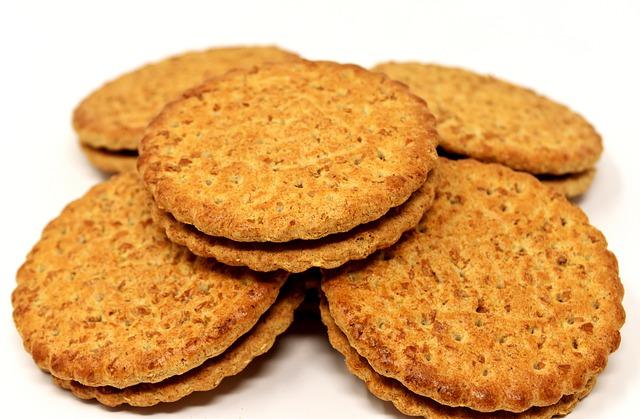 slepované sušenky