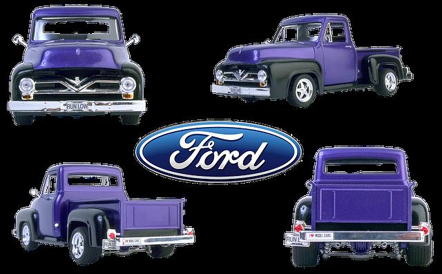 modrý Ford