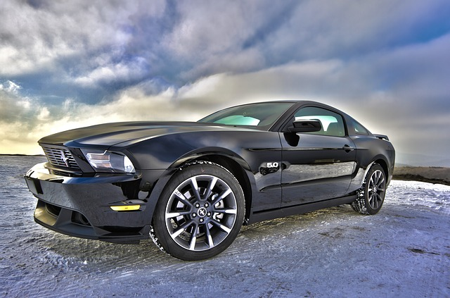 luxusní Ford Mustang